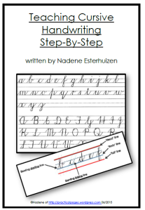Teaching Cursive Step-By-Step