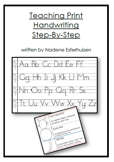 All New Handwriting Page With Updated Print And Cursive