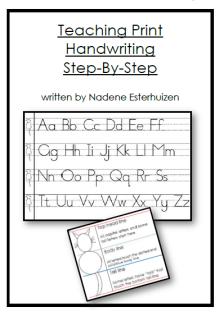 Teaching Print Step-By-Step