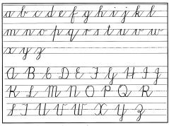 Printables Cursive Writing Abcd cursive handwriting step by for beginners practical pages
