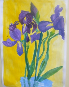 My 14-year-old's irises