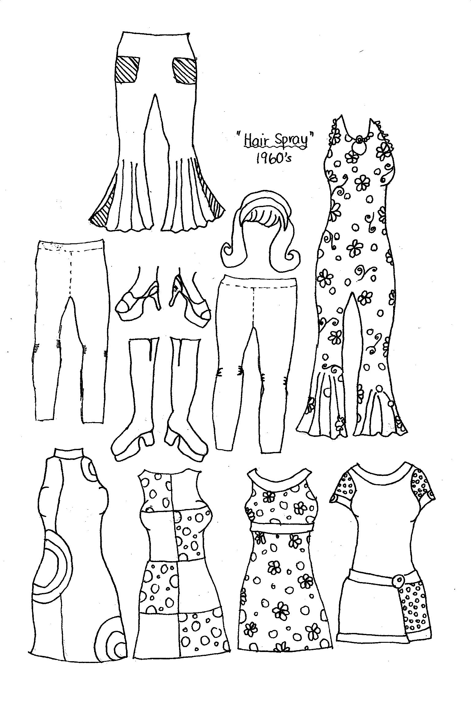 New Paper Dolls Fashions through