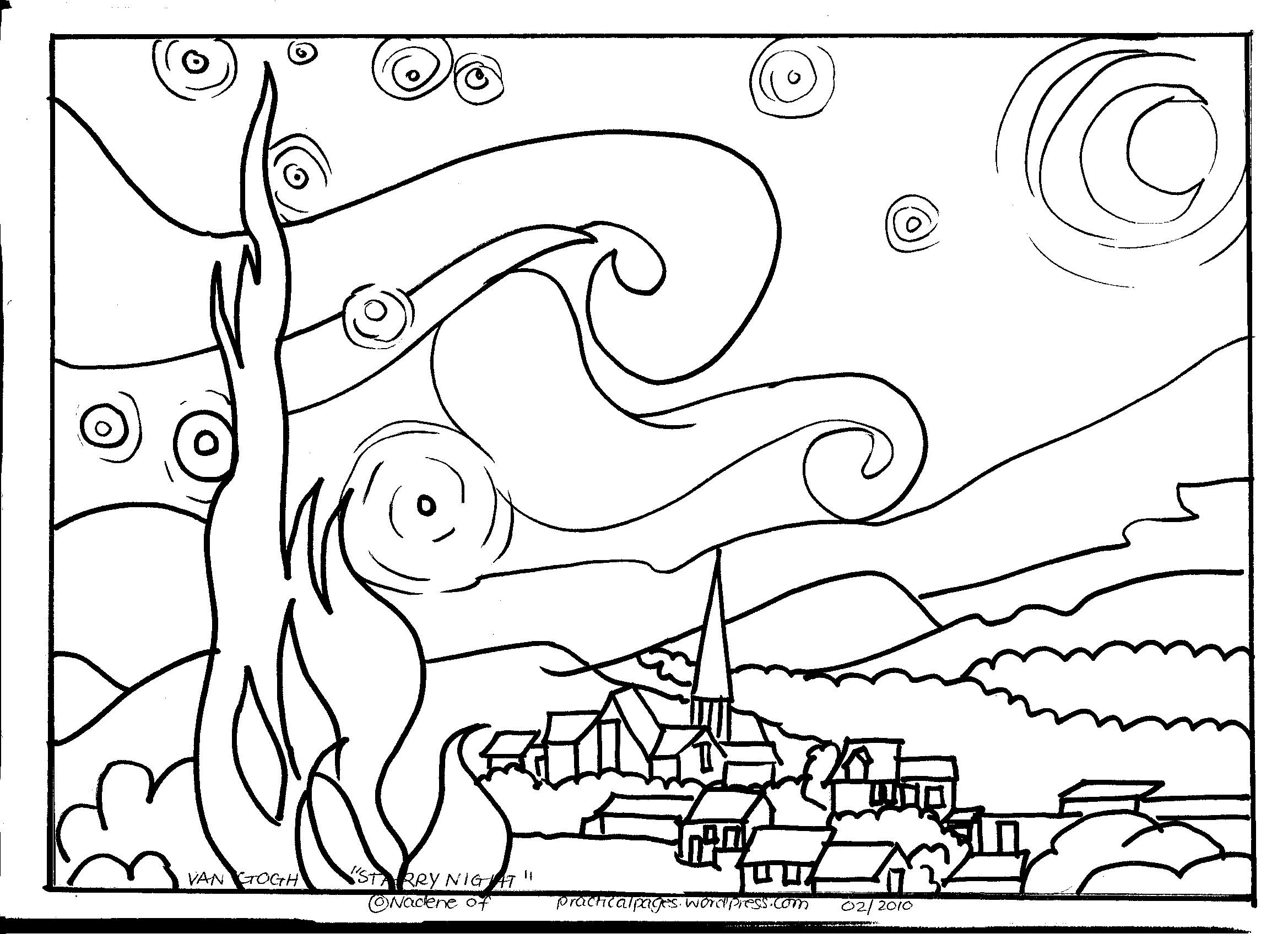 Free Coloring Pages Of Arles