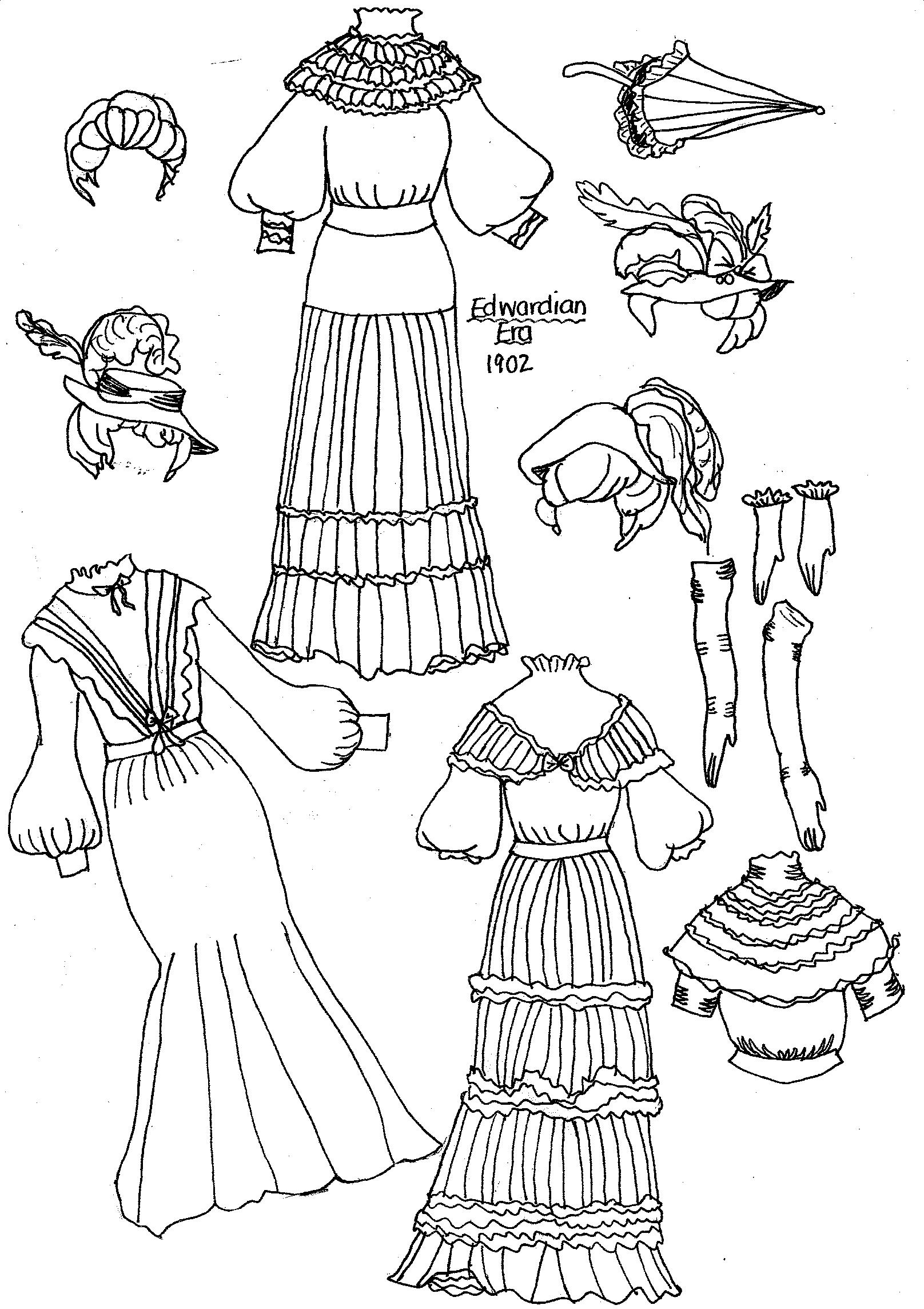 coloring pages dolls - photo#38