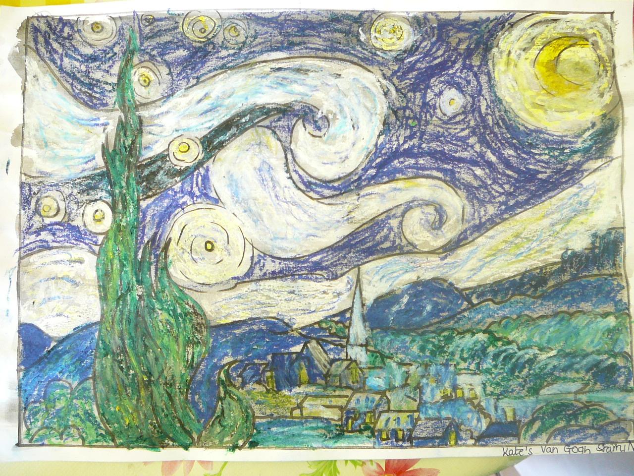Free coloring pages van gogh - Free Coloring Pages Van Gogh Starry Night Coloring Page Van Gogh S Starry Nig