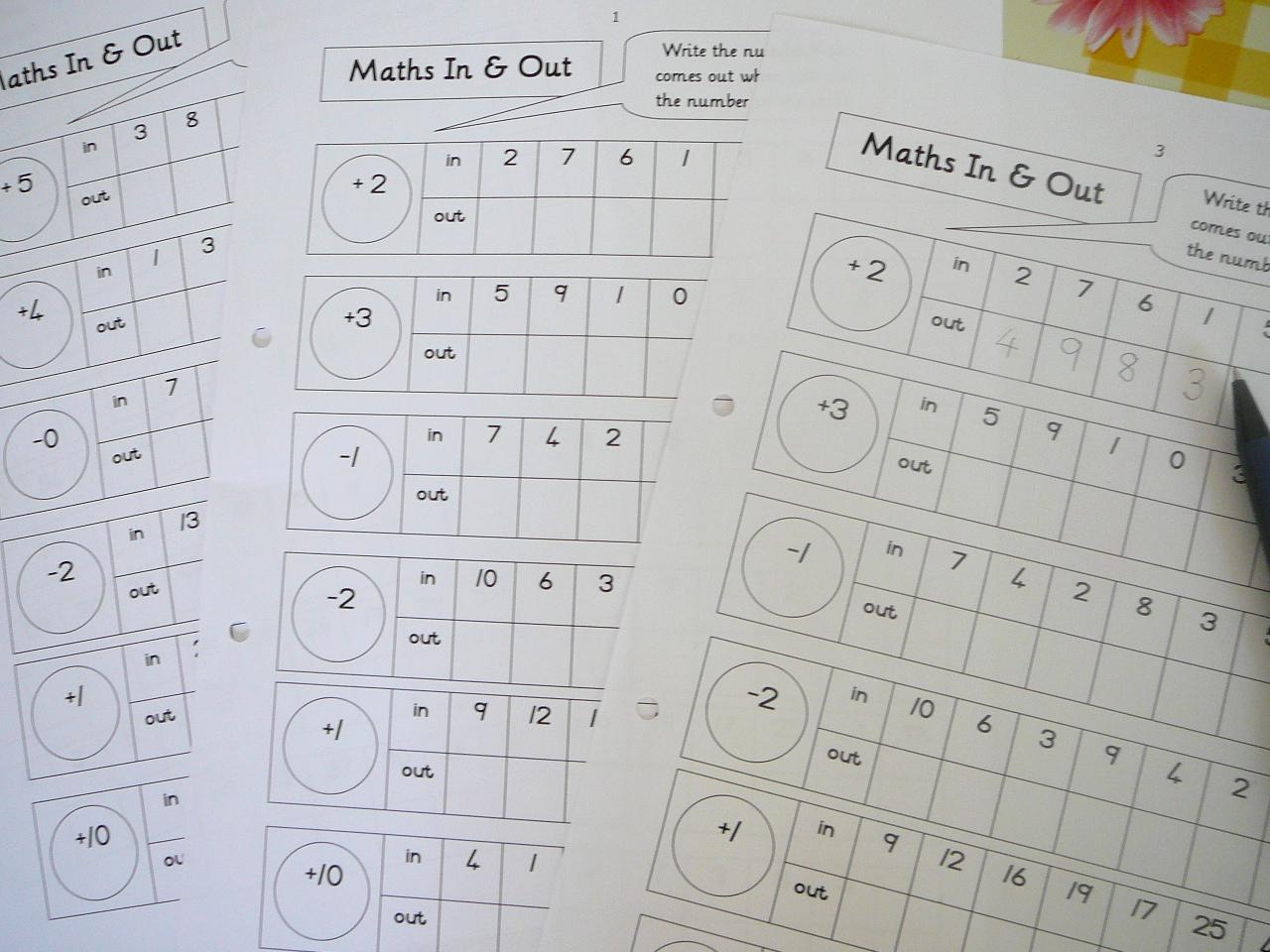 Mental Maths Practice fun worksheets – Remedial Math Worksheets
