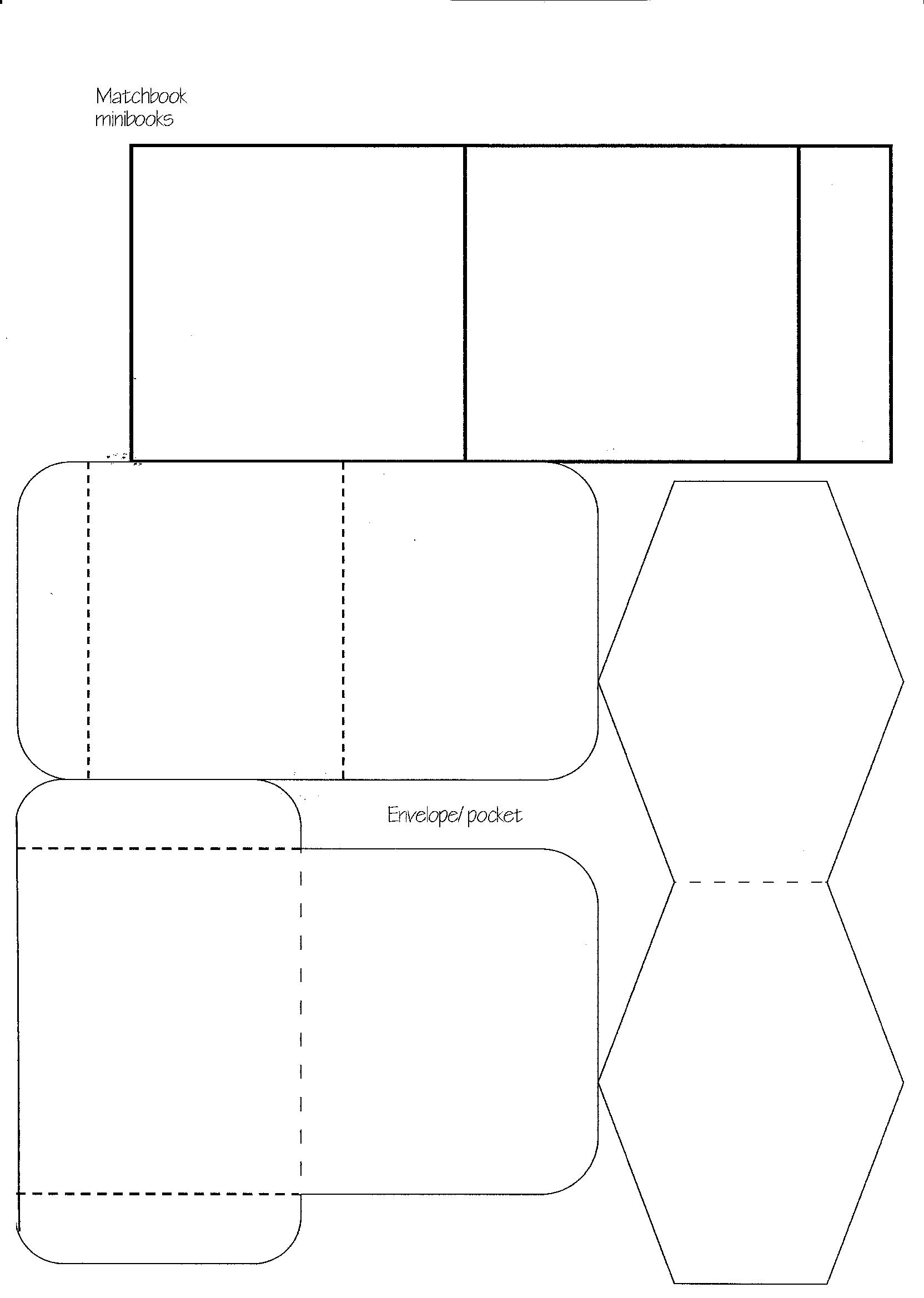 minibook master template download