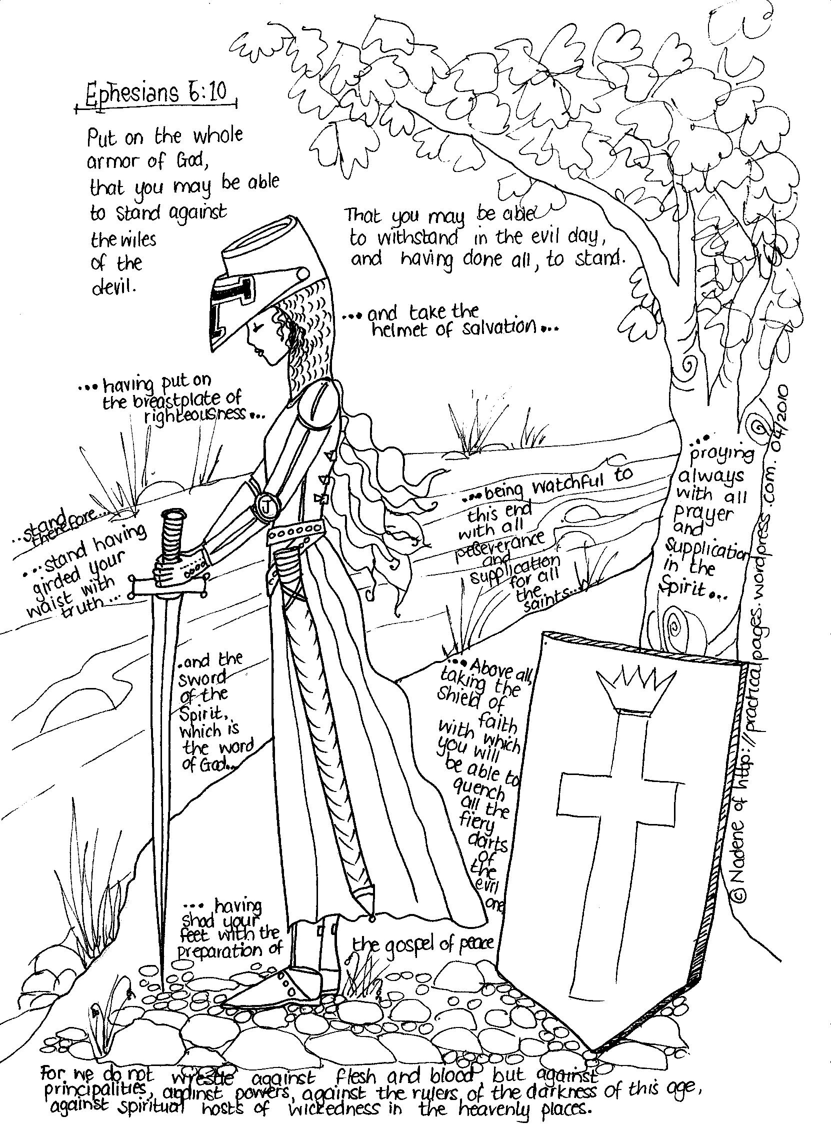 Visual of The Armor of God | Spiritual renewal | Pinterest | Lord ...