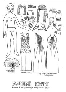 Paper Doll Ancient Egypt