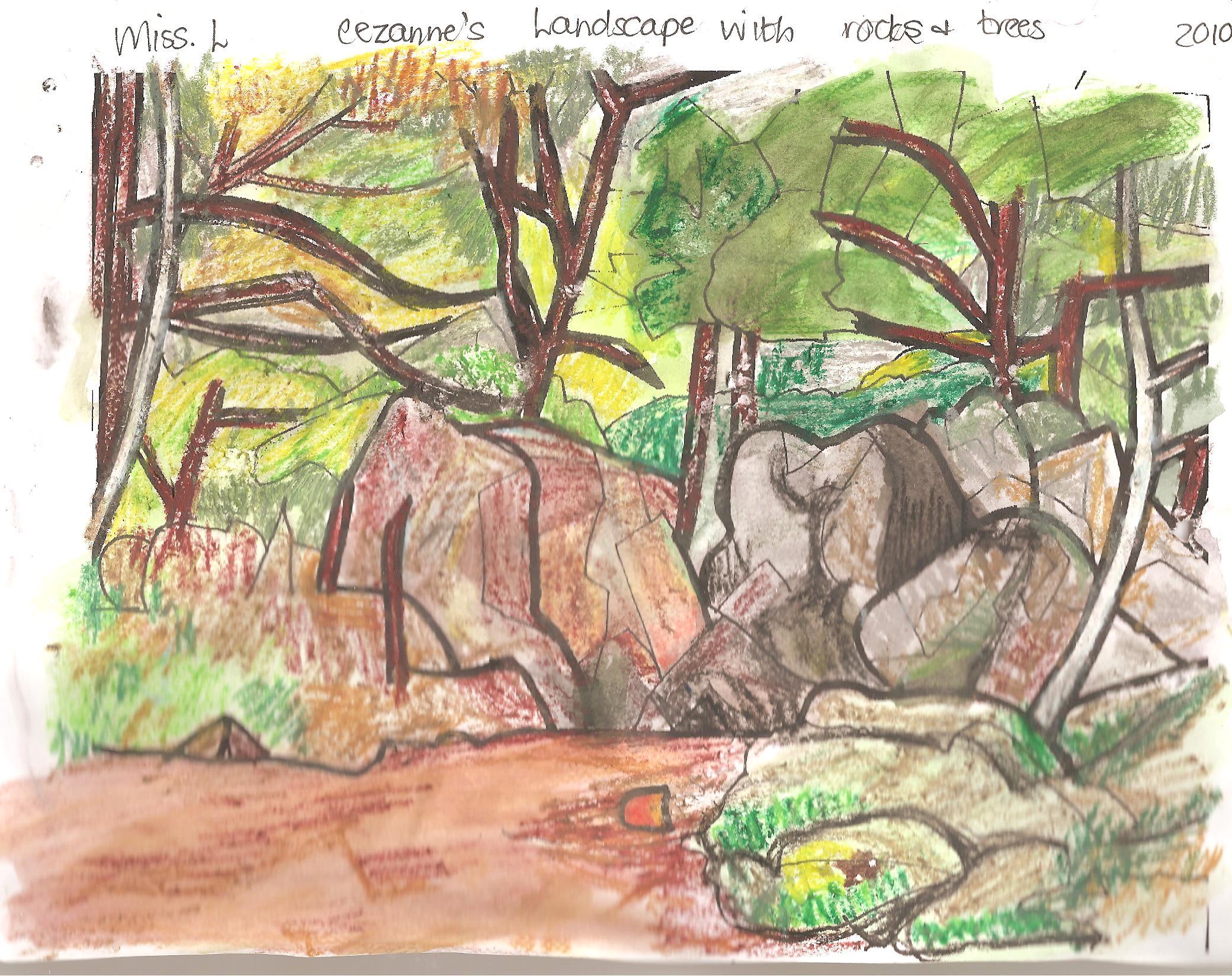 Appreciating Cezanne S Cubist Landscapes Practical Pages