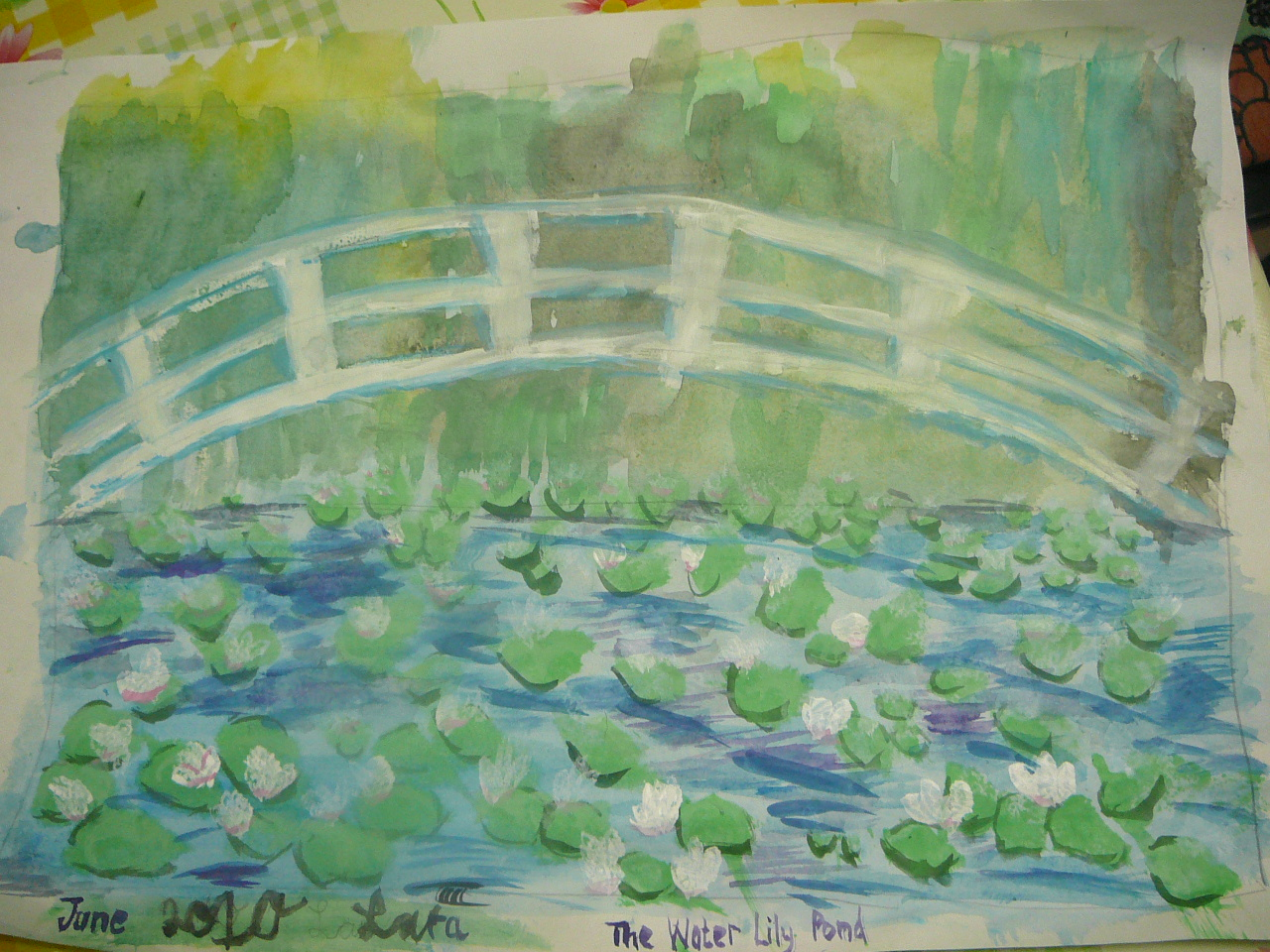 our monet inspired water lily pond paintings practical