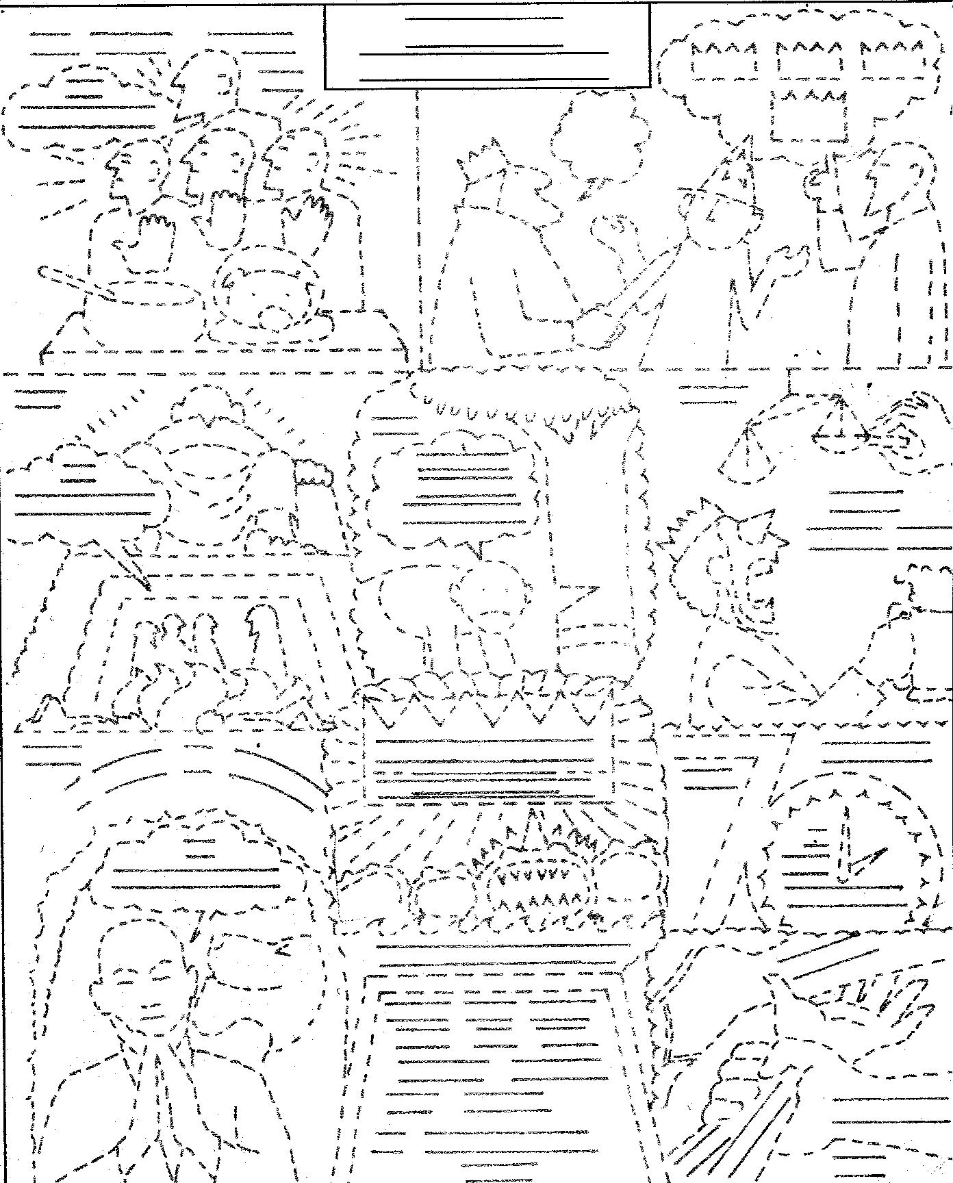 Free Gideon Bible Story Coloring Pages