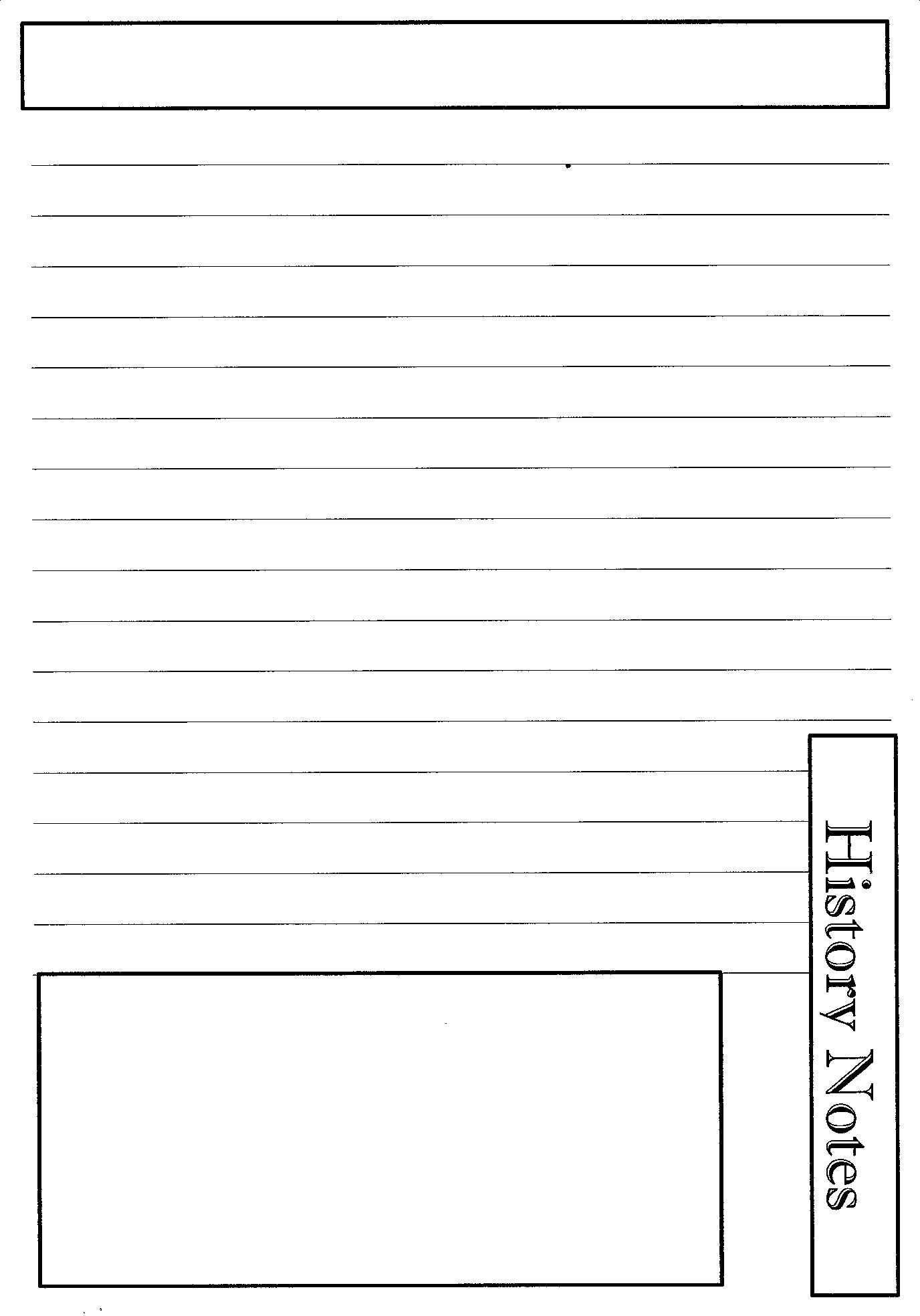 Cute Notebook Pages