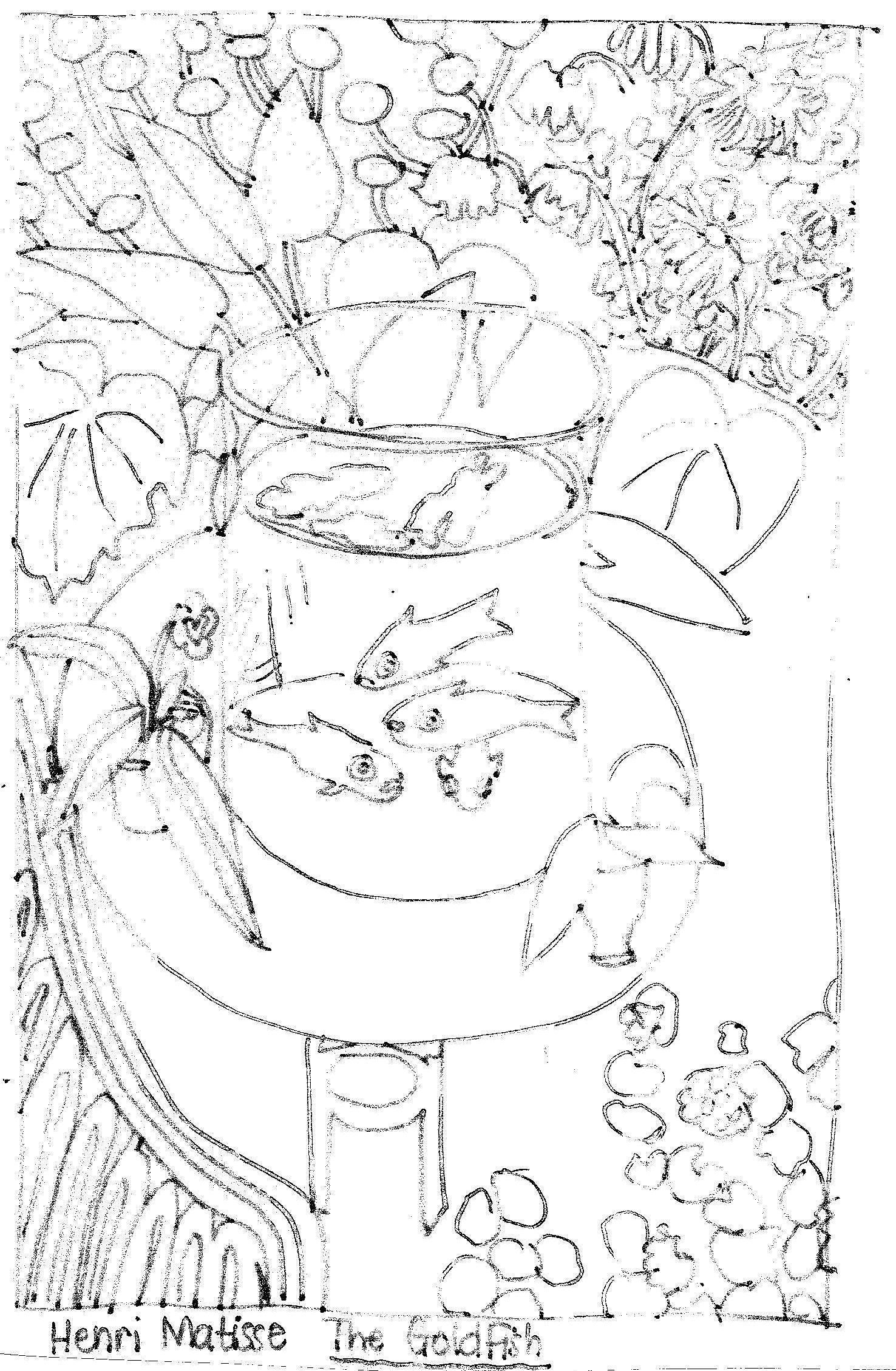 Matisse s Goldfish Practical