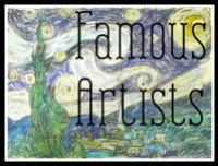 Famous Artist Study from Practical Pages