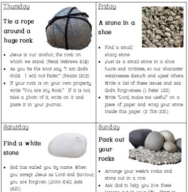 stones & rocks 2