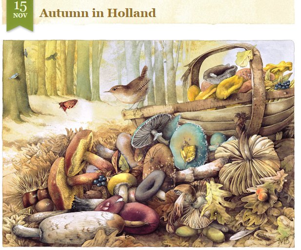 Marjolein Bastin's Autumn in Holland