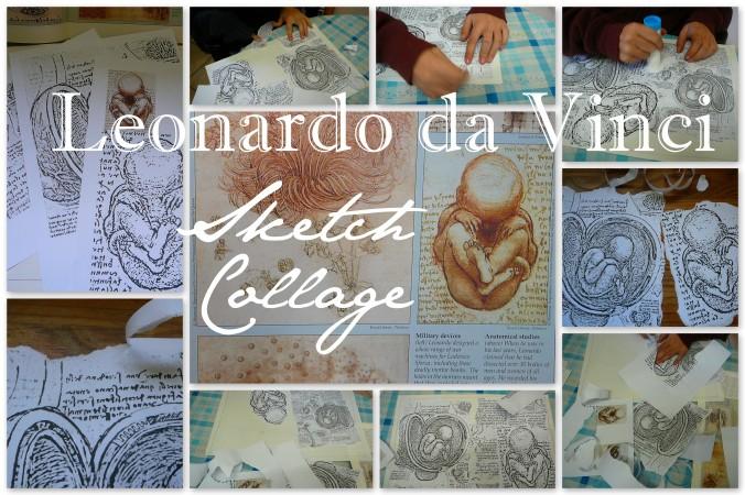 Leonardo da Vinic baby sketches