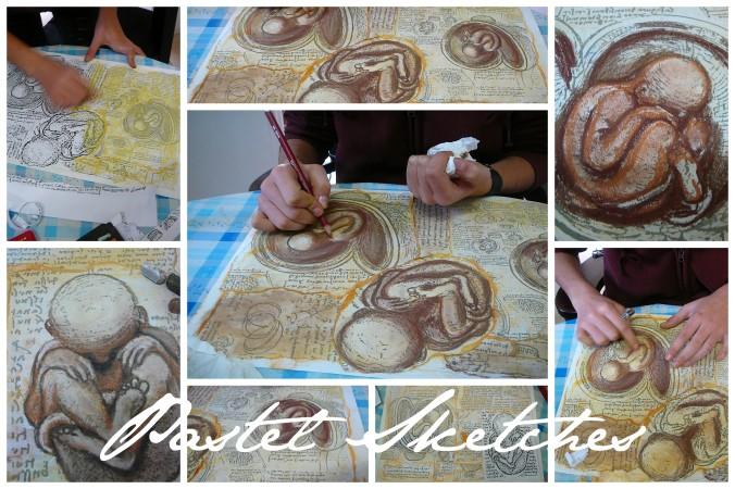 Leonardo da Vinic baby sketches1
