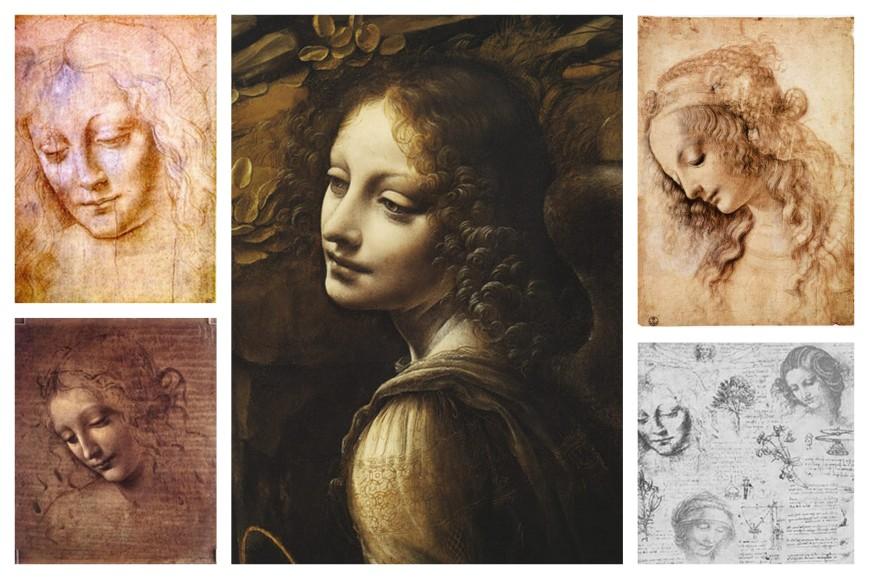 Leonardo Pastel Portraits