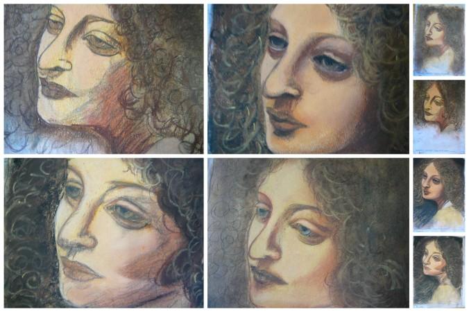 Leonardo Pastel Portraits2