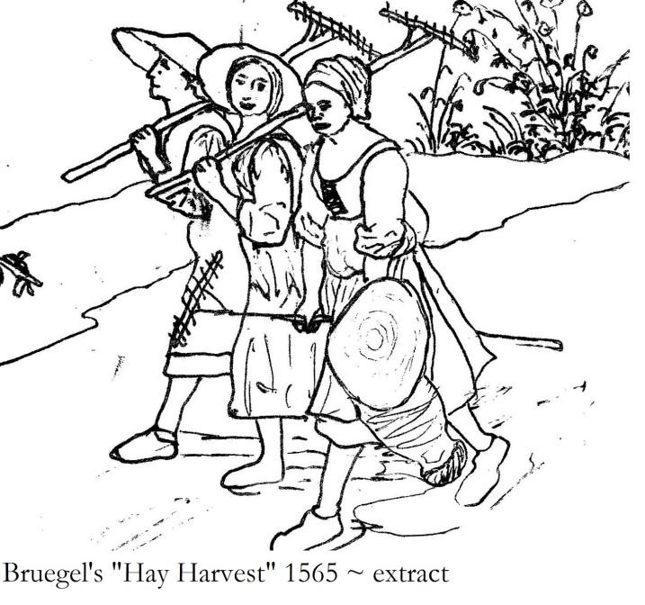 Bruegel's Hay Harvest