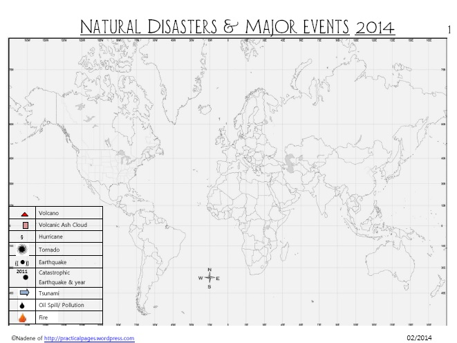 Current Affairs Natural Disasters & Major Events 2014