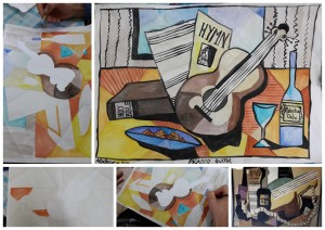 Art Picasso guitars