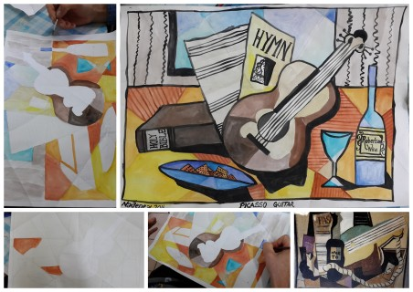 Art Picasso guitars