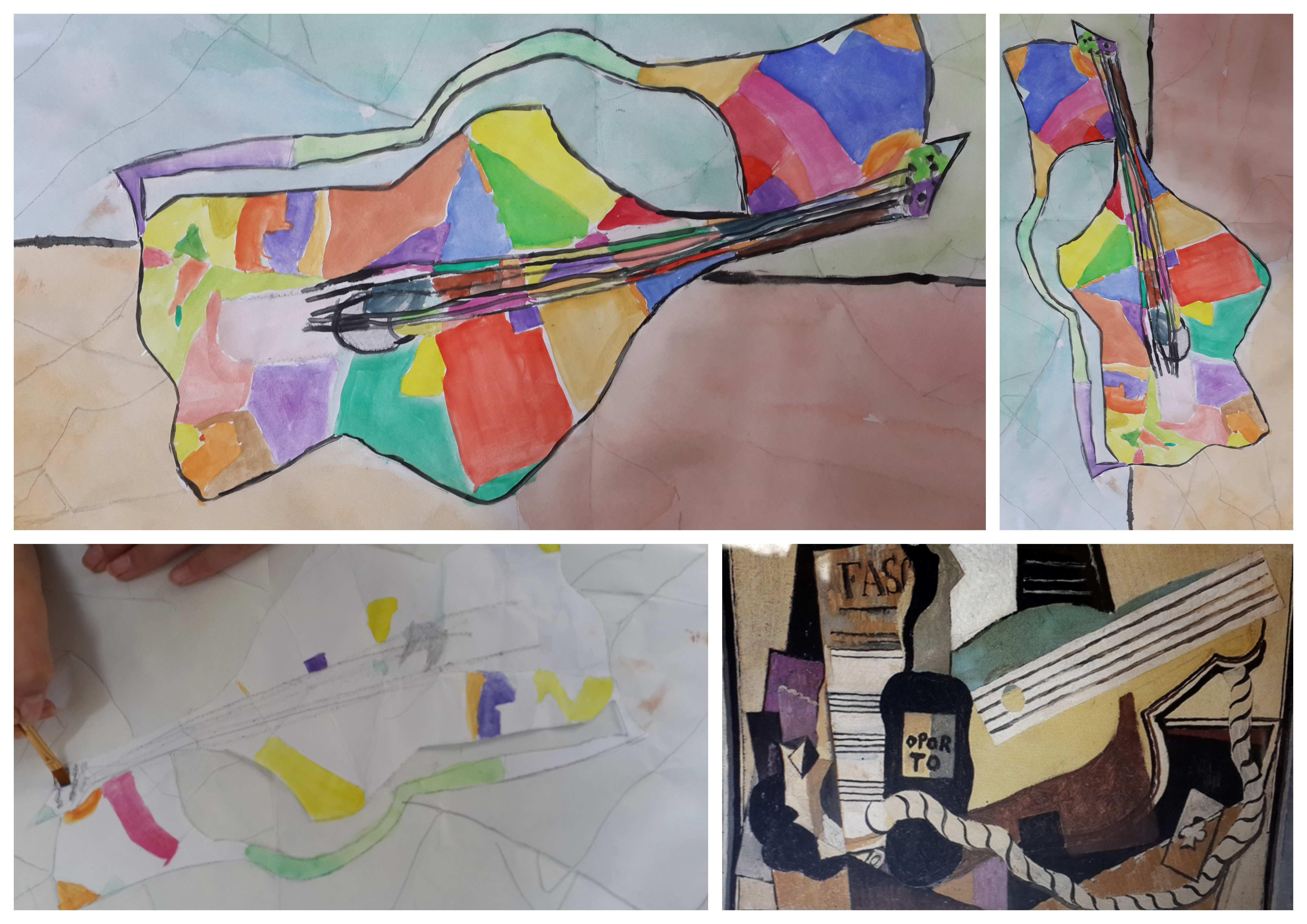 Sketch Tuesday ~ Picasso Guitars | Practical Pages