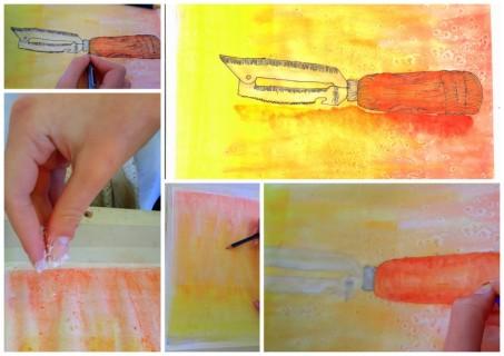 2-2014-09-14 Sketch Tuesday Kitchen Drawer1