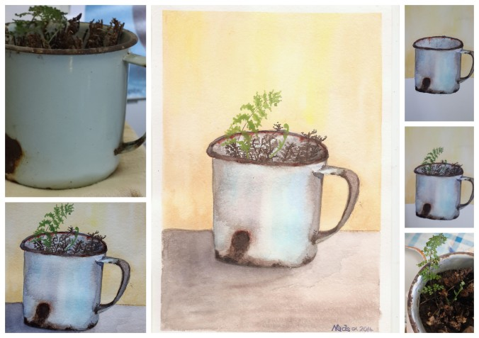 Art rusty cup1