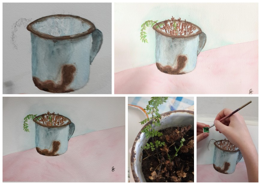 Art rusty cup2