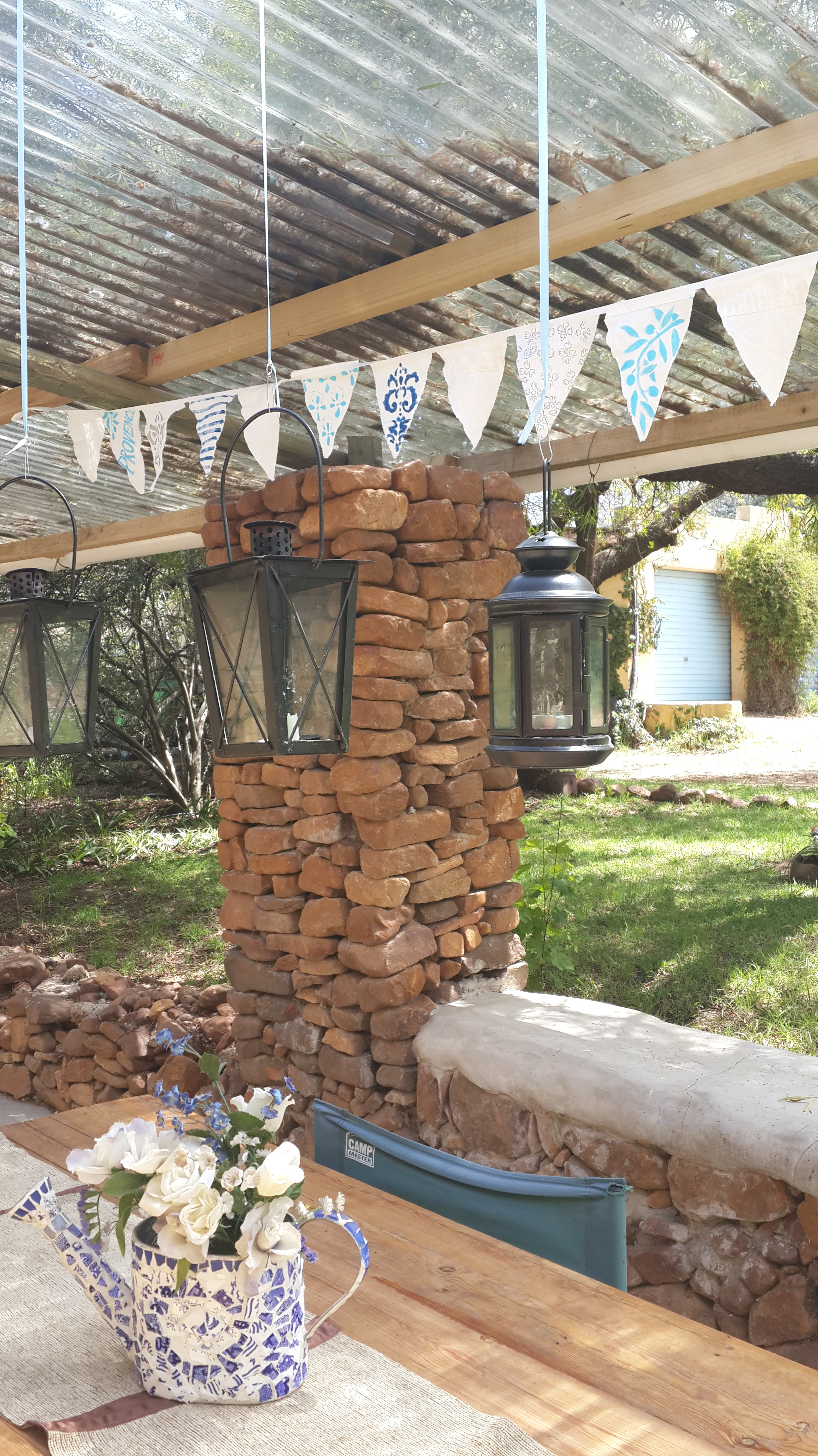 Creative crafts french patio ideas practical pages for Creative patio ideas