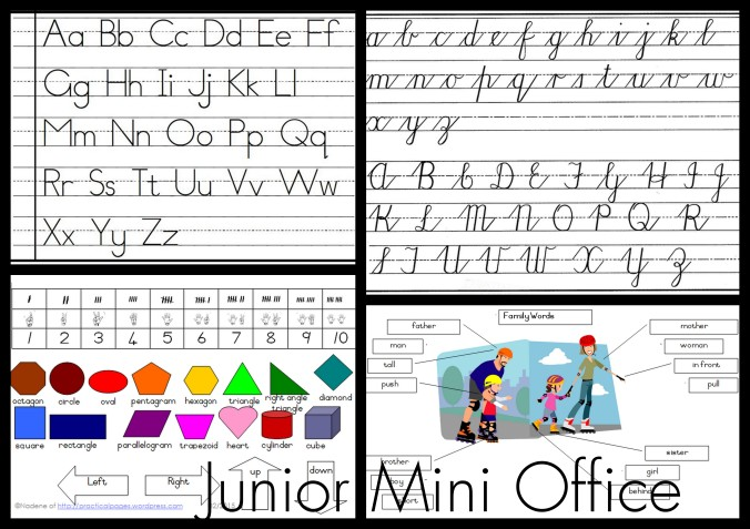 Maths Mini Office Updated | Practical Pages