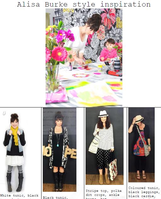 Alisa Burke Fashion style