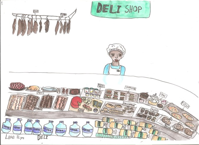 Sketch Tuesday Deli 001