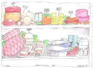 Sketch Tuesday Deli 002
