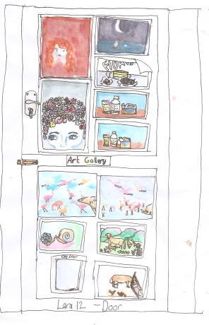 Sketch Tuesday Door 002