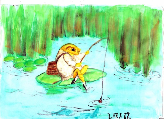 Sketch Tuesday Lake 001