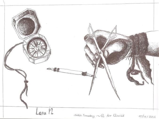 Sketch Tuesday Q 001