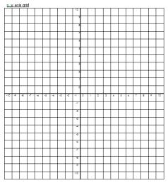 X Y Axis Grid