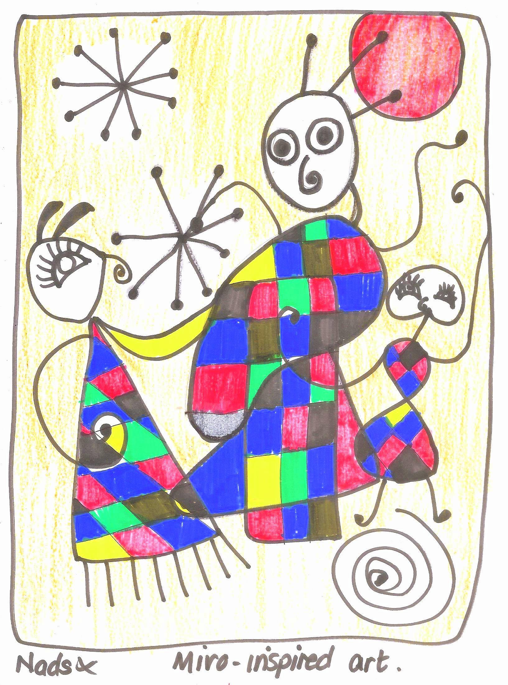 Summer Art Miro Practical Pages