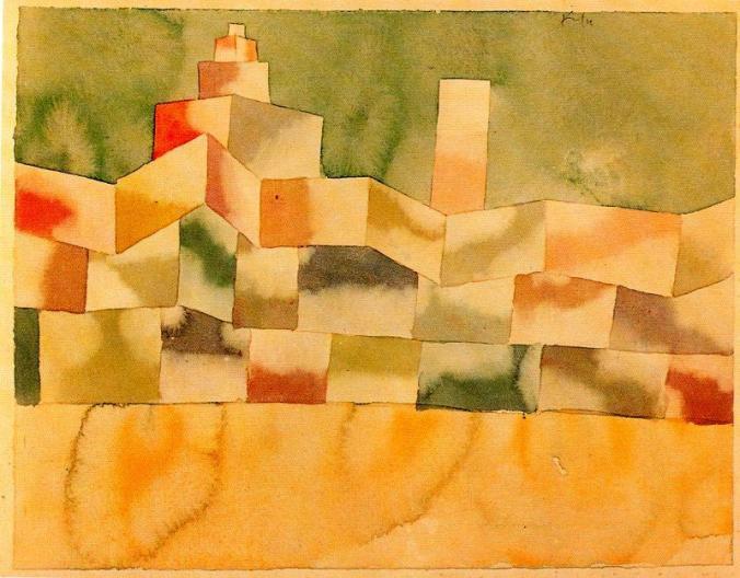 Paul-Klee-Oriental-Architecture