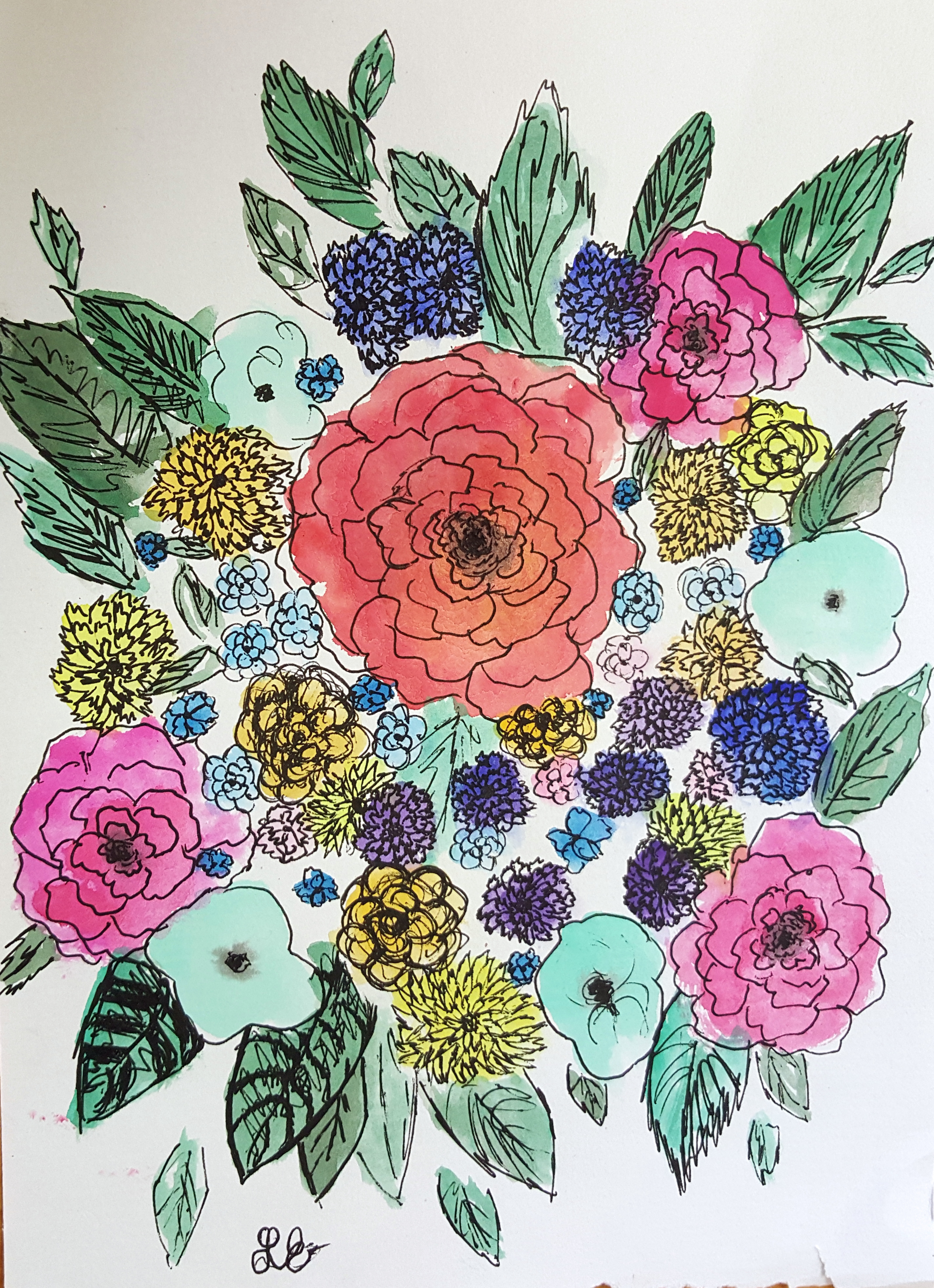 bouquet art alisa burke