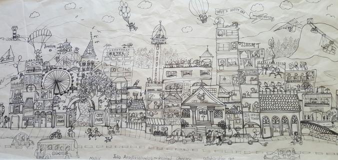 Nadene's cityscape