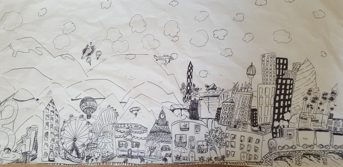 Lara's cityscape
