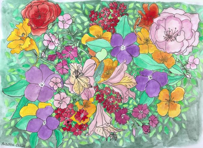 Alisa Burke Spring Bouquets 001