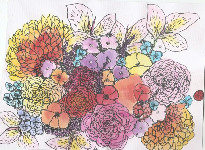 Alisa Burke Spring Bouquets 003