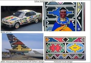 Esther Mahlangu's gallery